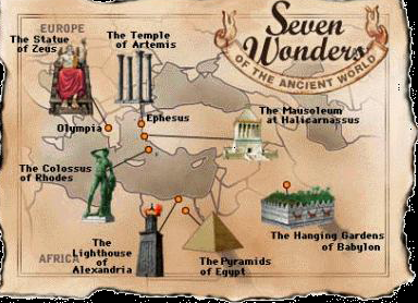 Le 7 Meraviglie del Mondo