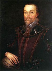 Ritratto di Sir Francis Drake, realizzato da Gheeraerts il Giovane