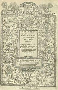 Euclide, Elementi, edizione del 1570