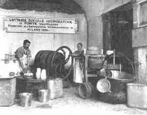 Un tempo il burro veniva lavato manualmente