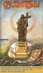 Il Cristo Redentore, il progetto iniziale del 1924