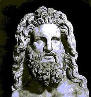 Busto di Zeus esposto al Museo archeologico Nazionale di Napoli