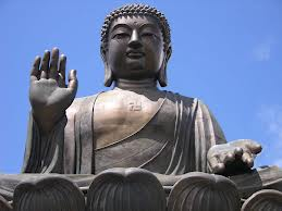 Una raffigurazione di Buddha