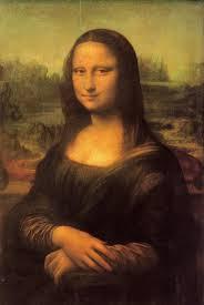 """Leonardo da Vinci,  """"Ritratto di Monna Lisa del Giocondo"""" (La Gioconda) 1503-1506 olio su tavola, 77 x 53 cm. Parigi, Louvre."""