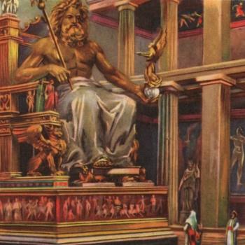 Zeus Architettura D Interni.La Statua Di Zeus I Tesori Alla Fine Dell Arcobaleno