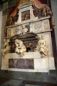 La tomba di Michelangelo,Basilica di Santa Croce, Firenze