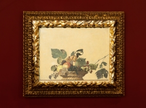 Caravaggio, La canestra di frutta, Pinacoteca Ambrosiana Milano