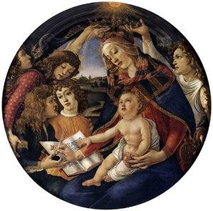 botticelli sandro madonna del magnificat