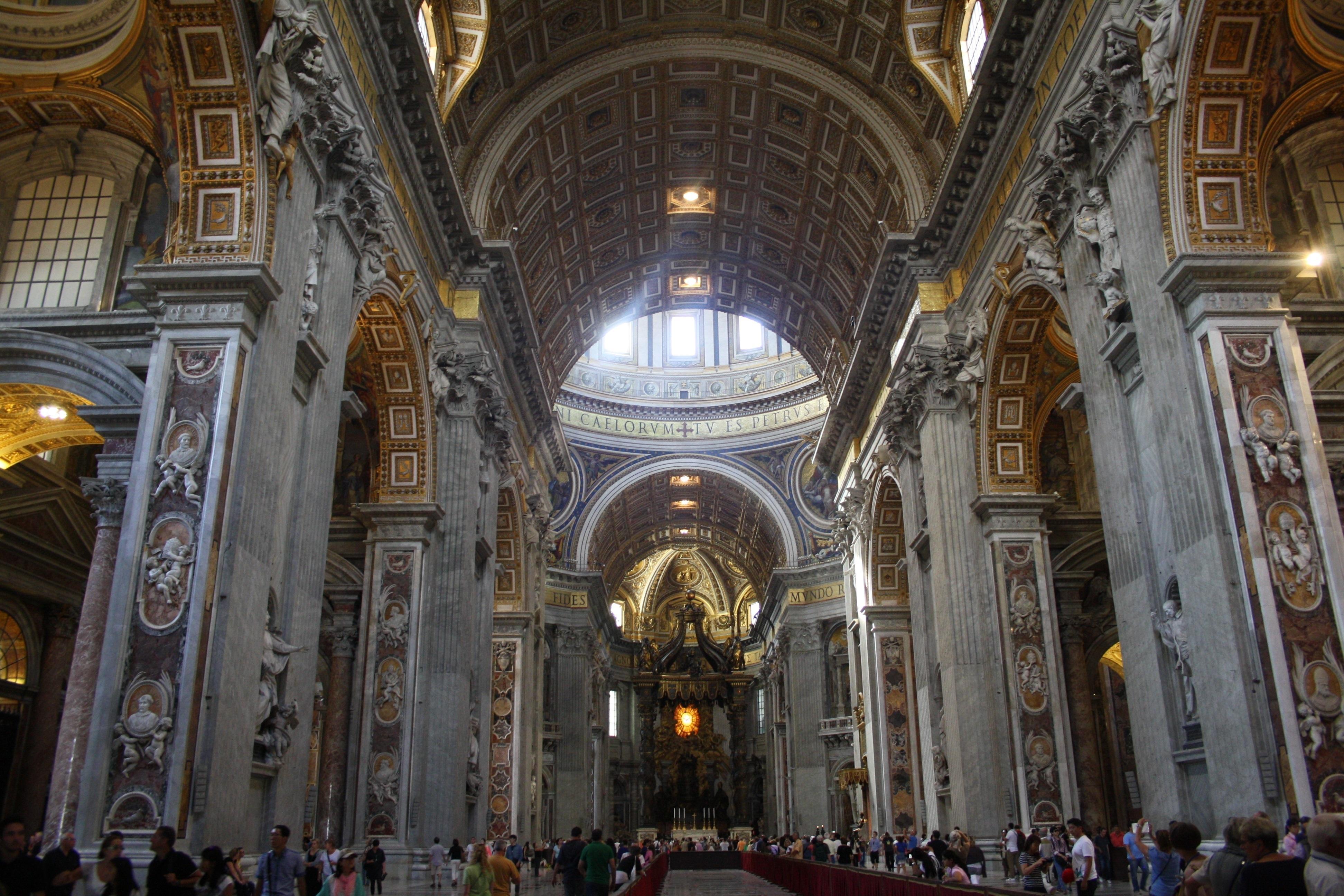 Basilica di san pietro vaticano i tesori alla fine dell for Interno 5 b b roma