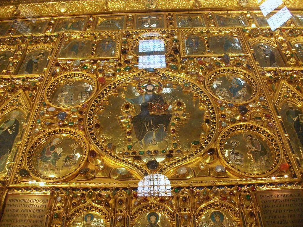 La pala d oro basilica san marco venezia i tesori alla for Pala de oro