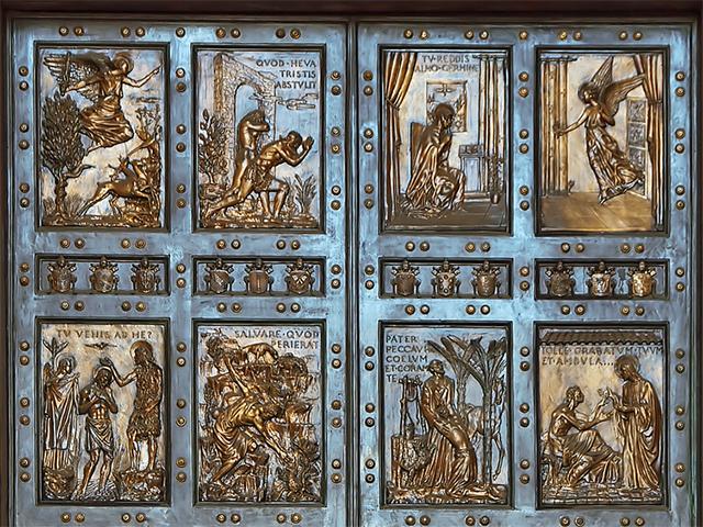 saint peter's basilica holy door
